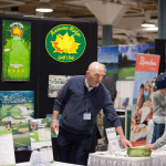 Vendors and attendees alike enjoy interaction throughout the Northern Indiana Golf Show.